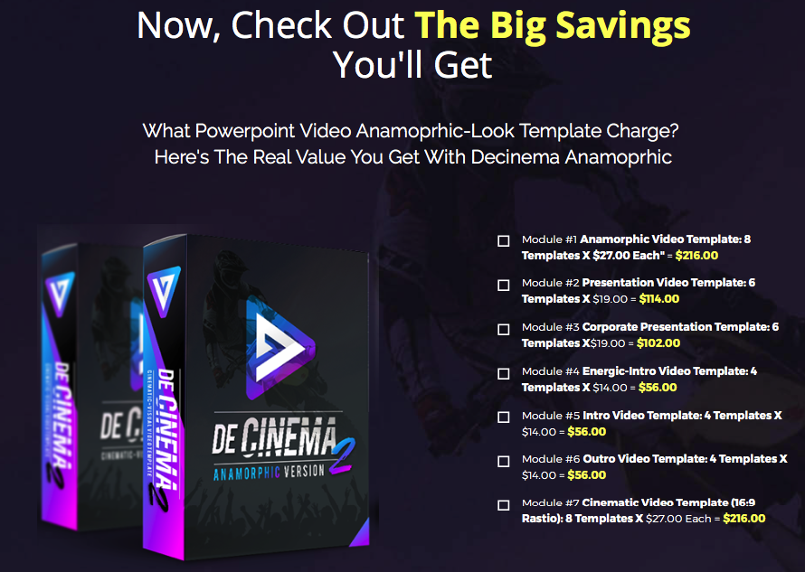 Decinema anamorphic by agus sakti best new breakthrough decinema anamorphic by agus sakti best new breakthrough powerpoint video template lets you create anamorphic look videos in just minutes and make your pronofoot35fo Image collections