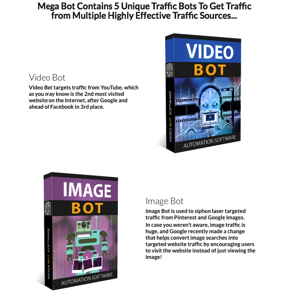 Mega Bot Traffic Software By Eric Holmlund - The Most Powerful 5 New