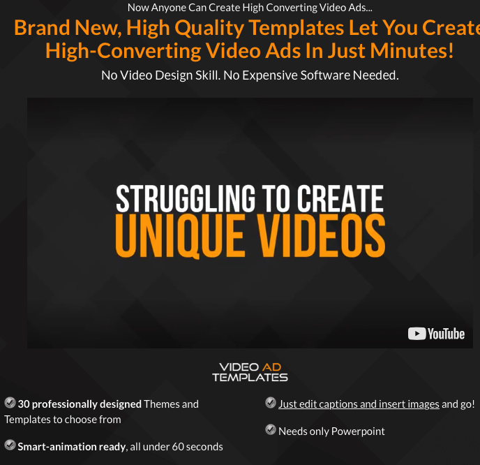 Video Ad Templates Collection By June Ashley Brand New High - Video ad templates